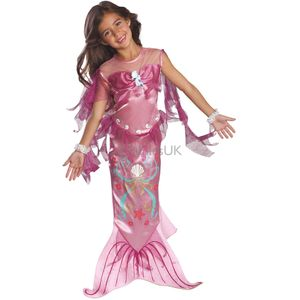 Childs Mermaid Costume (Pink) Age 12-24 Months