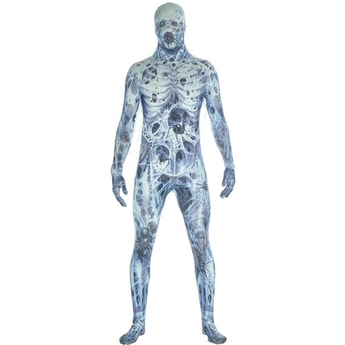 Arachnamania Spider Morphsuit Monster Official Adult Halloween Size L