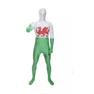 Wales Official Morphsuit Size Large