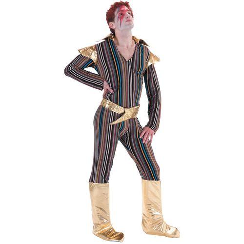 Ziggy Stardust Fancy Dress Costume Size M-L