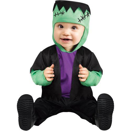 Childs Little Monster Frankenstein Halloween Fancy Dress Costume Toddler Age 12-24 Months