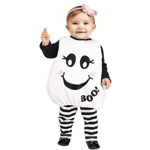 Baby Boo Ghost Halloween Fancy Dress Costume Toddler Age 12-24 Months