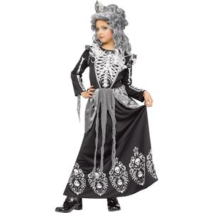 Childs Skeleton Queen Costume Age 4-6 Years
