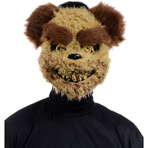 Richard Scary Teddy Bear Mask Halloween Fancy Dress Costume Accessory