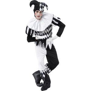 Harlequin Jester Costume Size L-XL