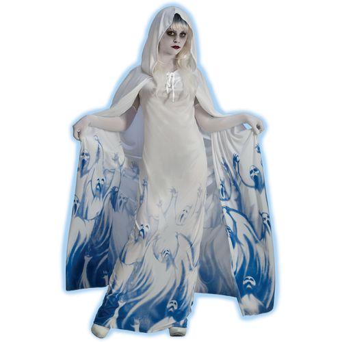 Ghost Soul Seeker Halloween Fancy Dress Costume Size 10-12