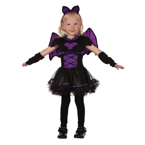Childs Bat Princess Halloween Fancy Dress Costume Toddler Age 3 Years