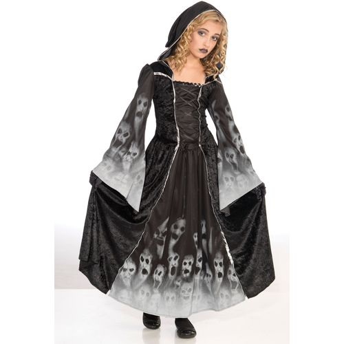 Childs Forgotten Souls Girls Halloween Fancy Dress Costume Age 8 Years