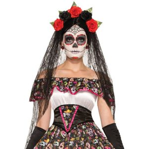 Day of the Dead Bride Veil