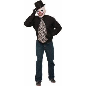 Evil Clown Jumbo Tie
