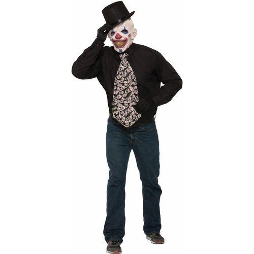 Evil Clown Jumbo Tie Halloween Fancy Dress Costume Accessory