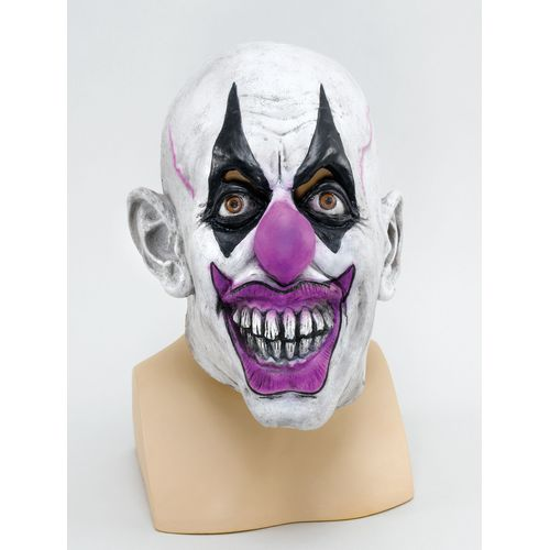 Evil Scary Clown Latex Overhead Mask Halloween Fancy Dress Costume Accessory
