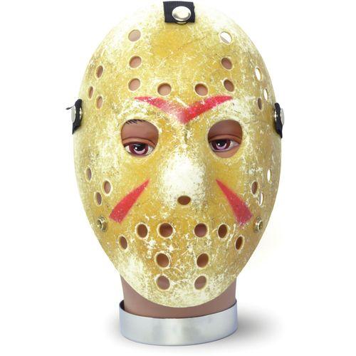 Jason Gold Hockey Mask Halloween Fancy Dress Costume Accessory