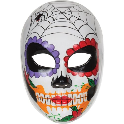 Day Of The Dead Female Mask Halloween Fancy Dress Costume Accessory