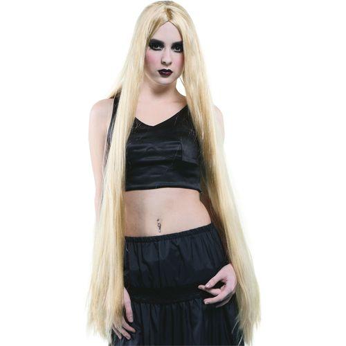 """Long Halloween Wig 40"""" (Blonde) Fancy Dress Wig Costume Accessory"""