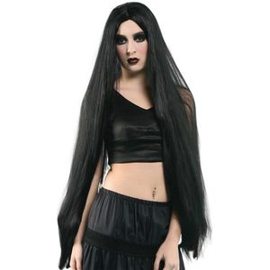 "Long Straight Wig 40"" (Black)"
