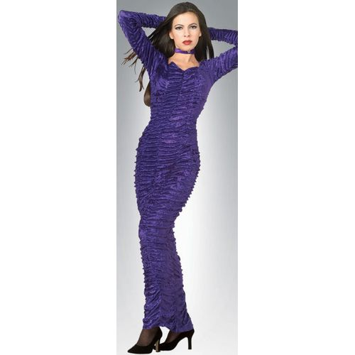 Purple Coffin Queen Ex Hire Sale Fancy Dress Costume Size 10-12