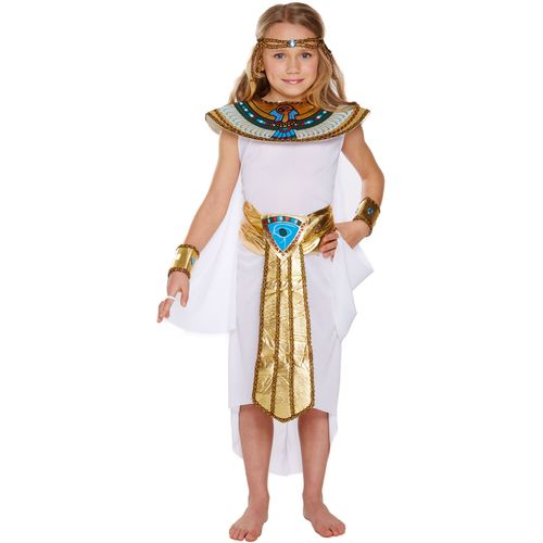 Childs Egyptian Girl Fancy Dress Costume Age 10-12 Years