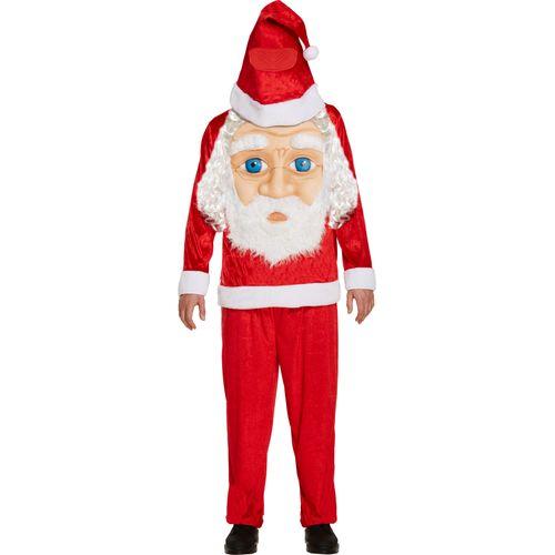 Jumbo Face Santa Claus Christmas Fancy Dress Costume