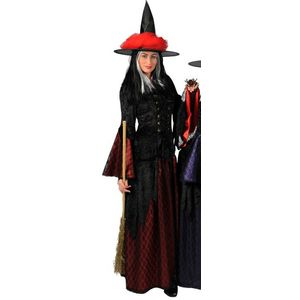 Red Sorceress Ex-Hire Costume Size Medium UK 10-12