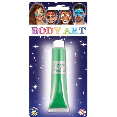 Green Make Up Cream  28.5ml Fancy Dress Costume Accessory