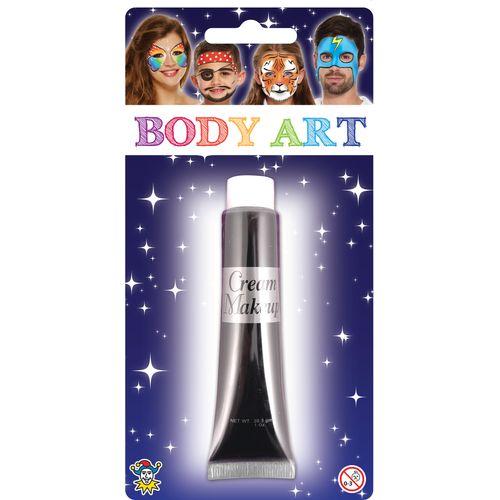 Black Make Up Cream 28.5ml Fancy Dress Costume Accessory