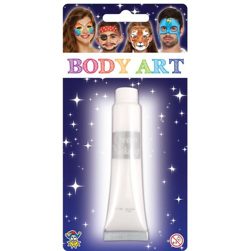 White Make Up Cream 28.5ml Fancy Dress Costume Accessory