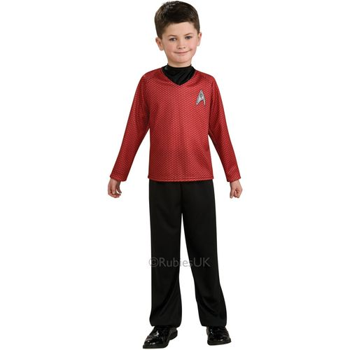 Childs Scotty Official Star Trek Fancy Dress Costume Age 8-10 Years