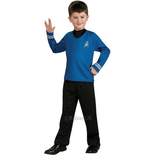 Childs Spock Official Star Trek Fancy Dress Costume Age 3-4 Years