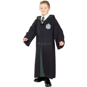 Childs Deluxe Malfoy Slytherin Robe Age 3-4 Years