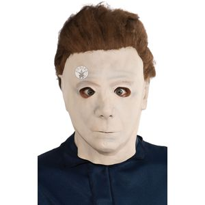 Michael Myers Halloween 3/4 Mask With Hair