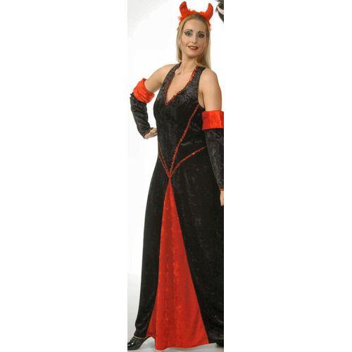 Devil Lady Dress Ex Hire Sale Halloween Fancy Dress Costume Size 8-10