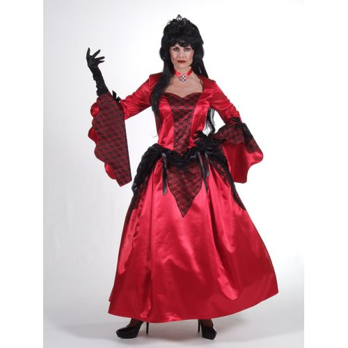 Scarlet Siren Ex Hire Sale Costume Halloween Vampiress