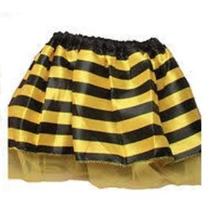 Childs Bumble Bee Tutu (Yellow & Black Striped)