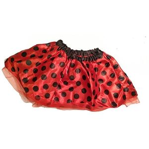 Childs Lady Bird Tutu (Red with Black Spots)