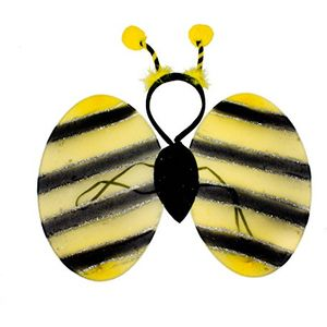 Childs Bumble Bee Costume Accessory Set