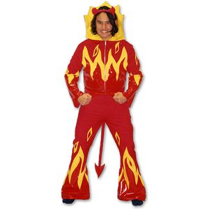 Lucifer Devil Man Ex Hire Sale Costume Size M-L