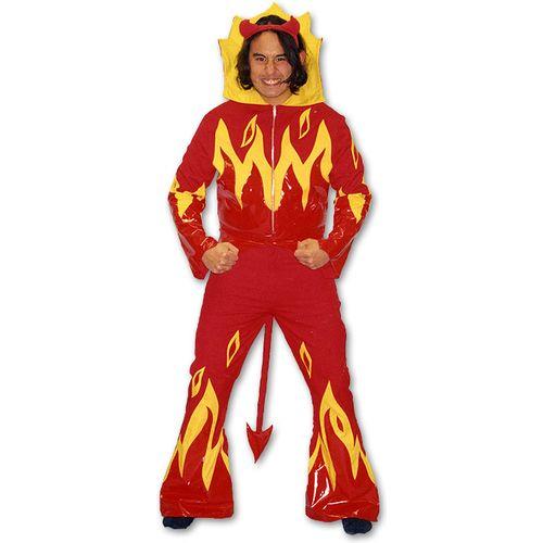 Lucifer Devil Man Ex Hire Sale Halloween Fancy Dress Costume Size M-L