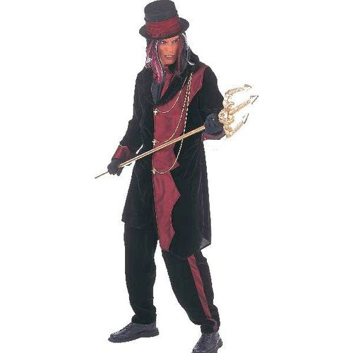 Gothic Lord Halloween Fancy Dress Ex Hire Sale Costume Size M-L
