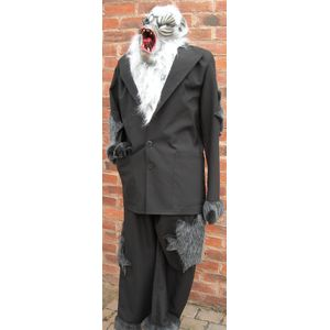 Werewolf Man Ex Hire Sale Costume Size M-L