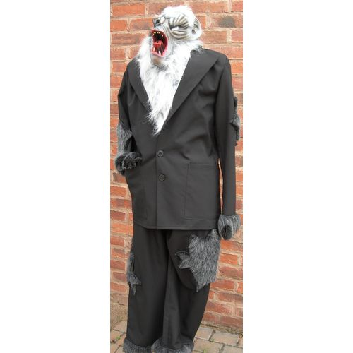 Werewolf Man Ex Hire Sale Fancy Dress Halloween  Costume Size M-L