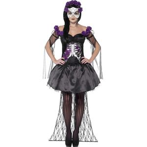 Day of the Dead Senorita Costume Size 16-18