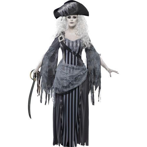 Ghost Ship Princess Halloween Fancy Dress Costume Size 16-18