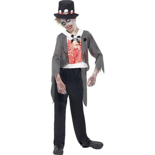 Zombie Groom Halloween Fancy Dress Costume Teen Size Age 12+ Years