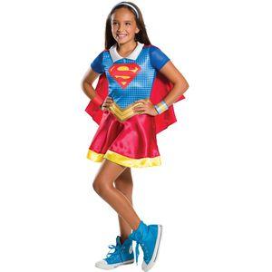 Childs Supergirl DC Superhero Costume Age 5-7 Years