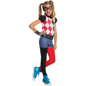 Childs Harley Quinn DC Superhero Costume Age 3-4 Years