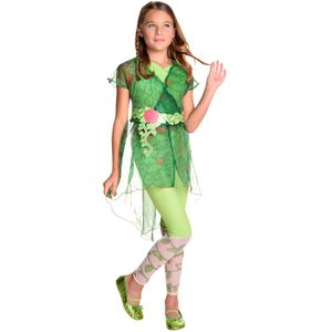Childs Deluxe Poison Ivy DC Superhero Costume Age 8-10