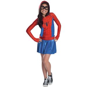 Childs Spider-Girl Hoodie Dress Age 5-7 Years