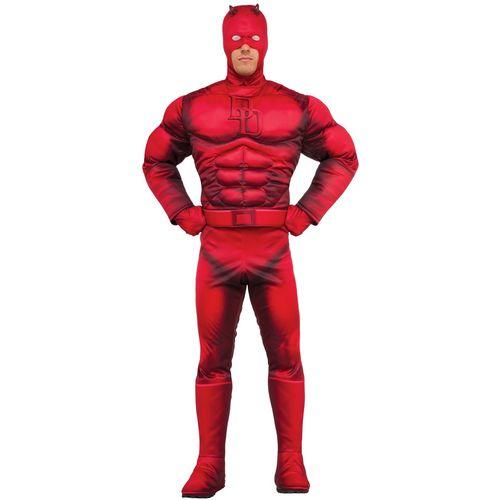 Deluxe Classic Daredevil Fancy Dress Costume Size M-L