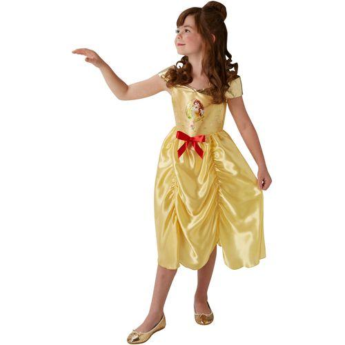 Childs Disney Fairytale Princess Belle Fancy Dress Costume Age 5-6 Years